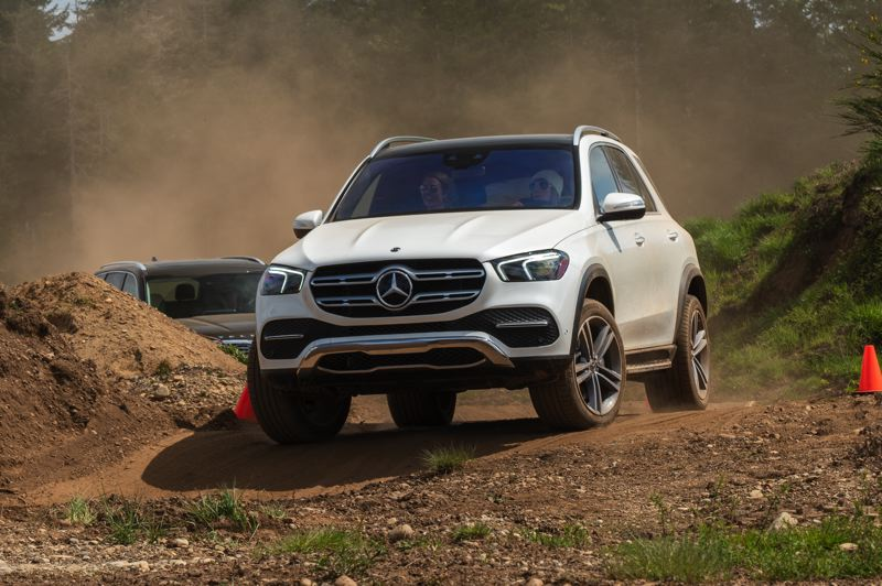RYAN DOUTHIT, MEDIASPIGOT LLC - The 2020 Mercedes-Benz GLE450 4MATIC won the Compact and Midsize Luxury award.