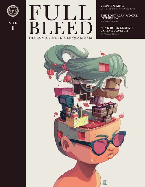 SUBMITTED PHOTO - Pictured above is the first issue of Full Bleed, a comics and culture quarterly.