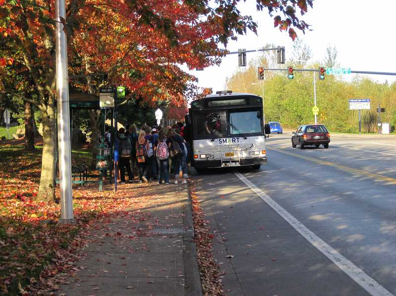 COURTESY PHOTO: CITY OF WILSONVILLE - Wilsonville's transit provider hopes to encourage youth to use more eco-friendly forms of transportation.