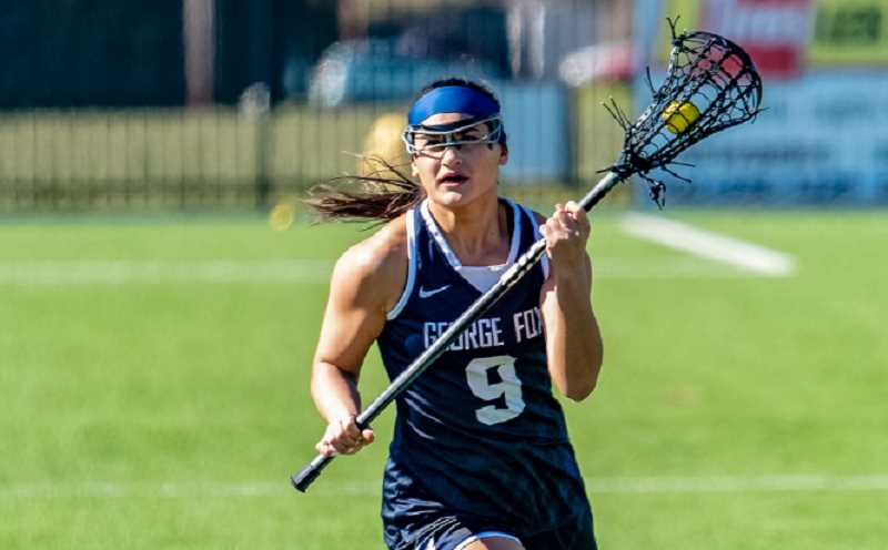 PHOTO COURTESY OF GFU - The George Fox women's lacrosse team finished 14-2 overall, 12-0 in the Northwest Conference and will head into the NCAA postseason after automatically qualifying via their regular season play.