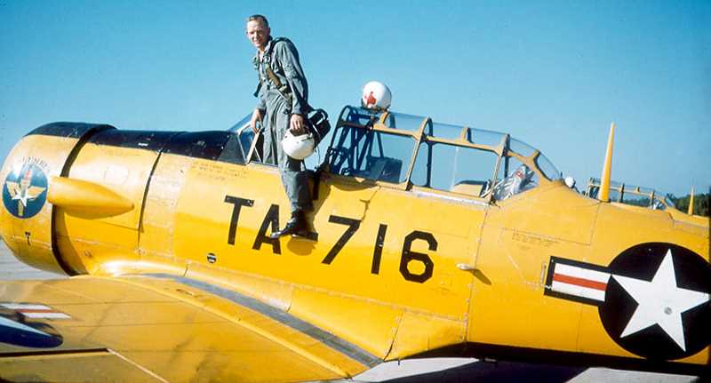 SUBMITTED PHOTO - After graduating from Oregon State College (now Oregon State University) with a degree in industrial management, Ken Austin Jr. served in the Air Force for several years, applying skills he learned as a youth fixing and racing cars as a mechanic while also learning to fly.