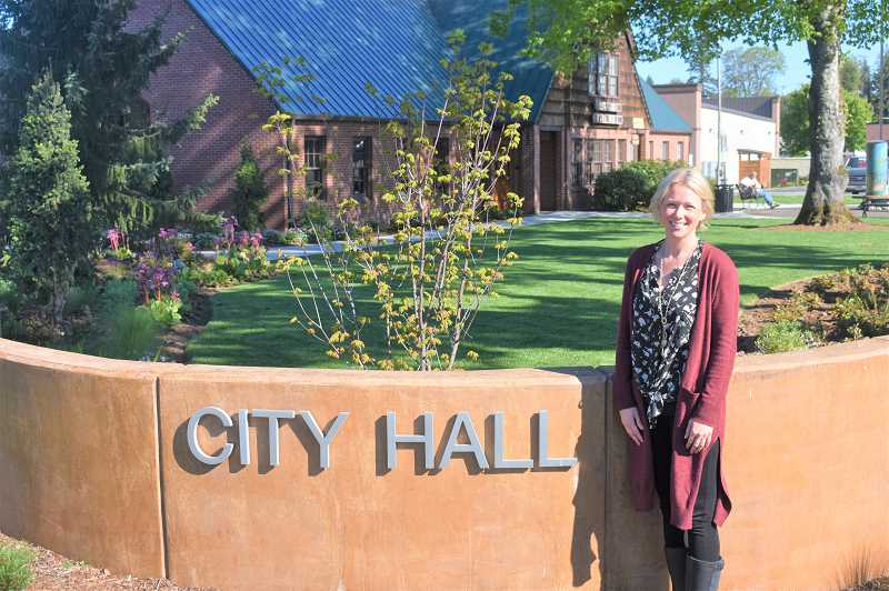 PMG PHOTO: EMILY LINDSTRAND - Sadie Main has been Estacada's city recorder since 2015.