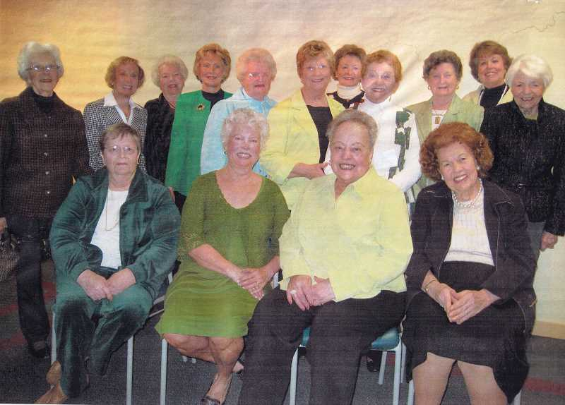COURTESY PHOTOS:  - The original founding members and longterm volunteers include from left Glenice Jones, Jane Cook, Yvonne Cauthorn, Mary Wolfe, Harriet McEvers, June Tofte, Carol Strader, Kay Vega, Grace Wygal, Sally Robinson, Jean Cleary and seated from left Connie Godish, Sharon Plumb, Dee Denton and Joan Hart.