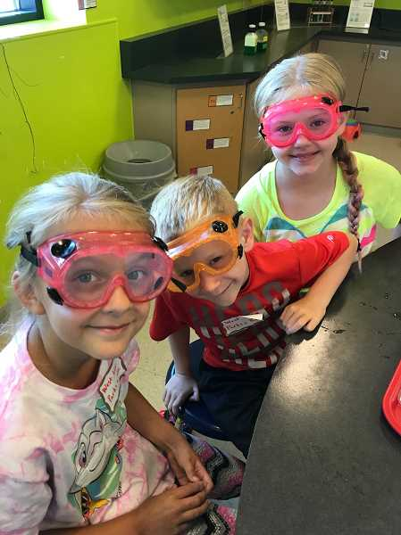 COURTESY PHOTO  - Mad Science, YMCA and other camps are offered through West Linn Parks and Recreation. Sign up now, as camps will fill quickly.