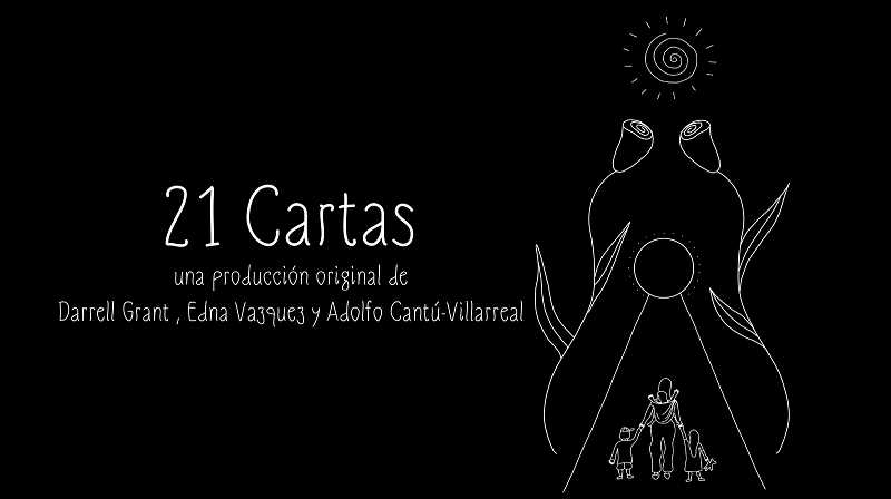 COURTESY PHOTO: VESPERTINE WORKS - '21 Cartas' is a film to be shown in Portland and Hillsboro, and was created by  Adolfo Cantu-Villarreal, Darrell Grant and Edna Vazquez.