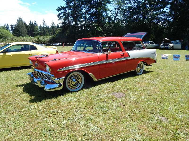 PMG FILE PHOTO - The Estacada American Legion Carl Douglas Post will host their annual car show from 10 a.m. to 3 p.m. Saturday, July 6, outside of the Viewpoint Restaurant. See listing for details.