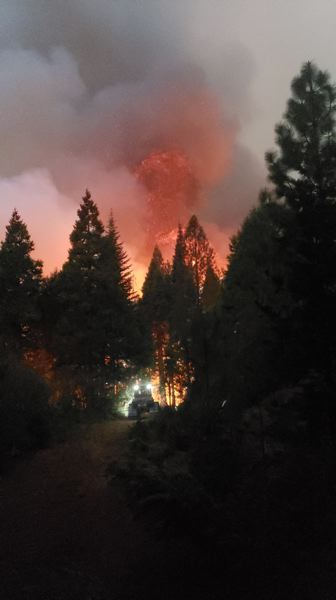 PMG FILE PHOTO - Portland-area fire districts have banned most outdoor burning until May's hot weather fades.