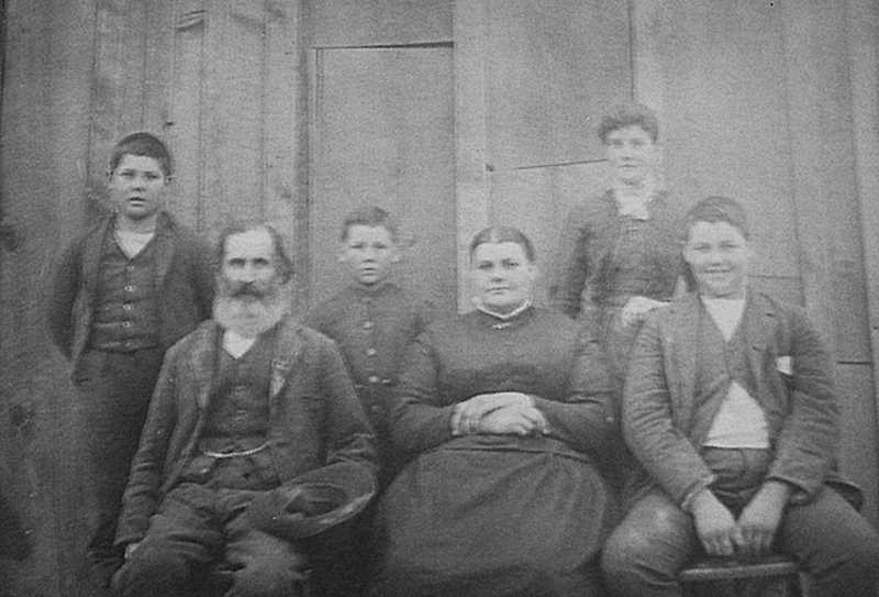 PHOTO COURTESY OF BOWMAN MUSEUM  - Andrew Clarno settled on the John Day River between Antelope and Fossil in 1866. Pictured is the Andrew and Eleanor Clarno family.