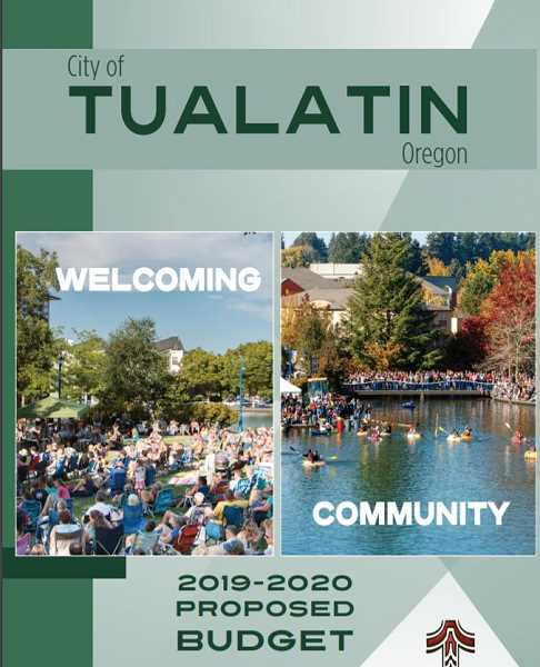 COURTESY CITY OF TUALATIN - What's in the proposed Tualatin budget was announced during a Budget Committee meeting Monday night.