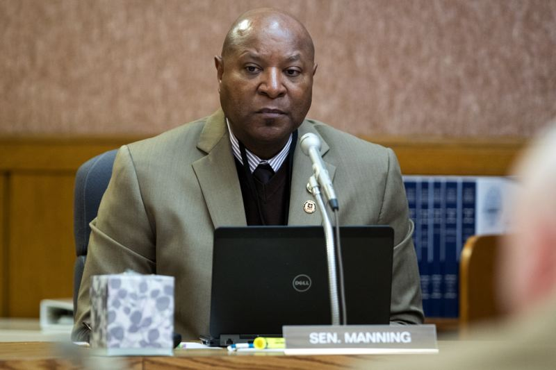 PMG FILE PHOTO - Sen. James I. Manning Jr., a Eugene Democrat and chief sponsor of the bill to provide driver's licenses to some immigratns, says the legislation provides a safe way for undocumented people to follow the rules of the road in Oregon.