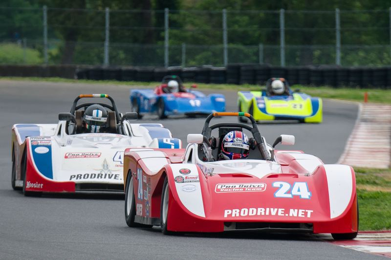 COURTESY SCAA - Spec Racer Ford is among SCCA's most popular classes. These identical purpose-built racing cars keep the focus on close competition and driver skill. The Pro Drive racing school at PIR uses these cars, and owner Todd Harris is a past national champion in the class.