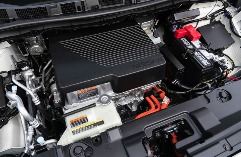 COURTESY NISSAN - The electric motor in the 2019 Nissan Leaf Plus generatees an impessive 214 horesepower and 250 foot pounds of torque.