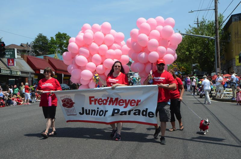 COURTESY: ROSE FESTIVAL - There's a workshop for Rose Festival Junior Parade float decorating coming up.