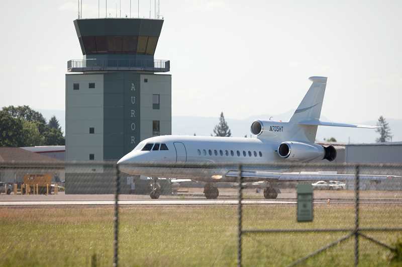 PMG PHOTO: JAIME VALDEZ - The Oregon Aviation Board might never have approved the 2012 Aurora Airport Master Plan.