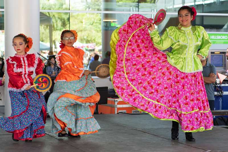 COURTESY PHOTO: HILLSBORO CHAMBER OF COMMERCE - The Latino Cultural Festival is presented by Hillsboro Chamber of Commerce, and showcases local artists every year.