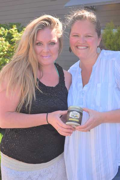PMG PHOTO: EMILY LINDSTRAND - Angela Debree and Christy Veselik are the forces behind Beeingkind.