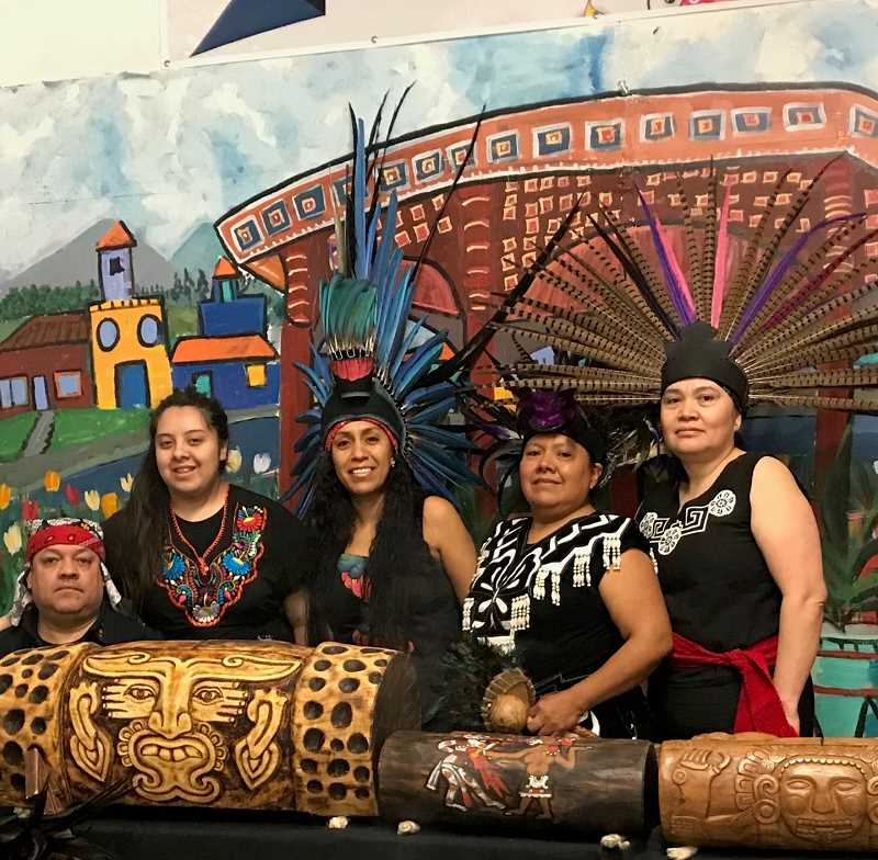 COURTESY PHOTO: CITY OF HILLSBORO - Huehca Omeyocan was awarded a grant to fund the purchase of pre-Columbian instruments and regalia for workshops and performances throughout Hillsboro.