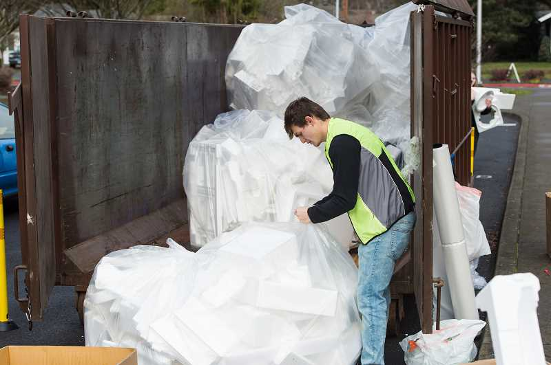 PMG FILE PHOTO: CHRISTOPHER OERTELL - PlanetCon has become one of the few ways local residents can recycle unwanted Styrofoam.