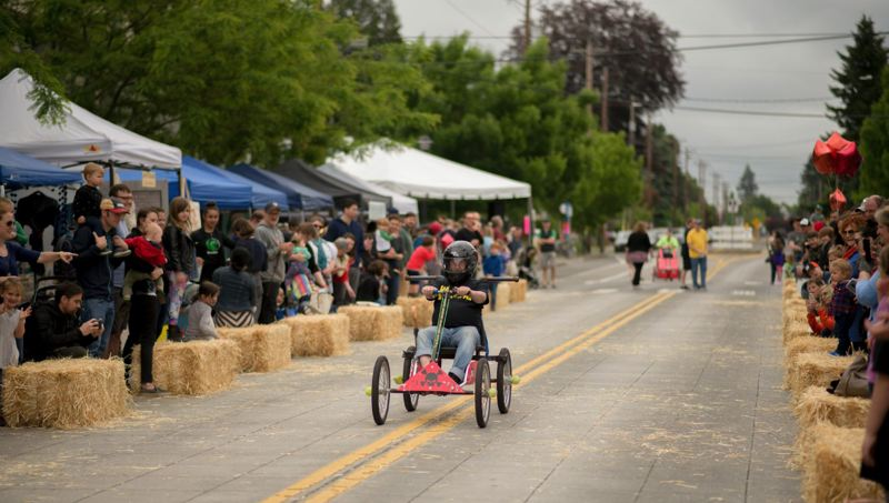COURTESY PHOTO - The Kenton Street Fair features coaster car races, as well as street vendors, kids activities and 20 bands. It takes place 10 a.m.-6 p.m. May 19.