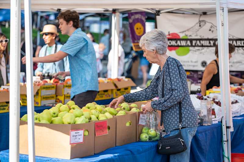 COURTESY PHOTO: DODGE & BURN STUDIOS - A wide variety of fresh produce and artisanal goods are available at the LO Farmers Market with nearly a dozen new vendors added to the lineup for the 2019 season.