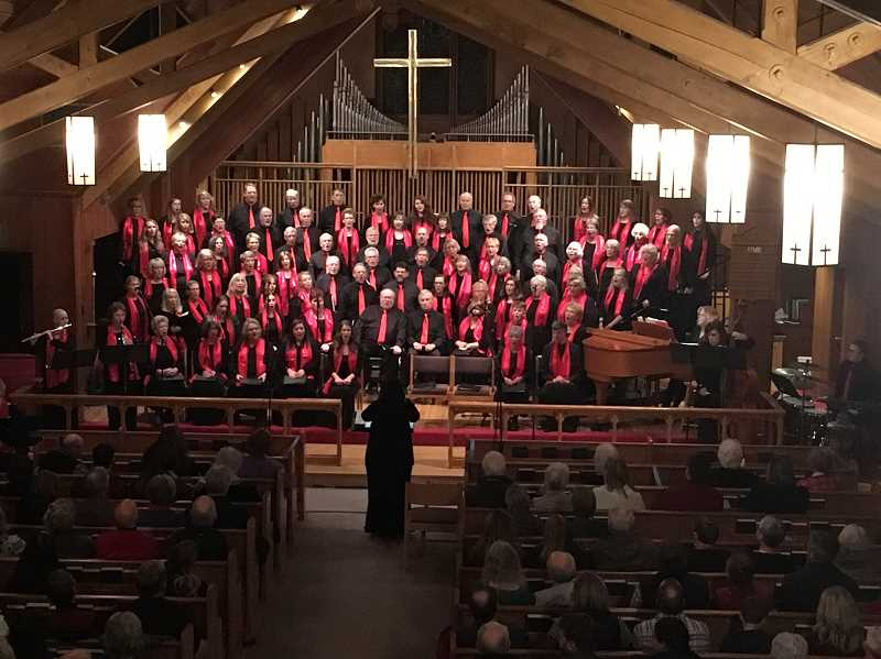 West Linn Community Chorus will present its spring concert May 18 and 19 at Christ Church Episcopal Parish in Lake Oswego. The concert is free and open to all.