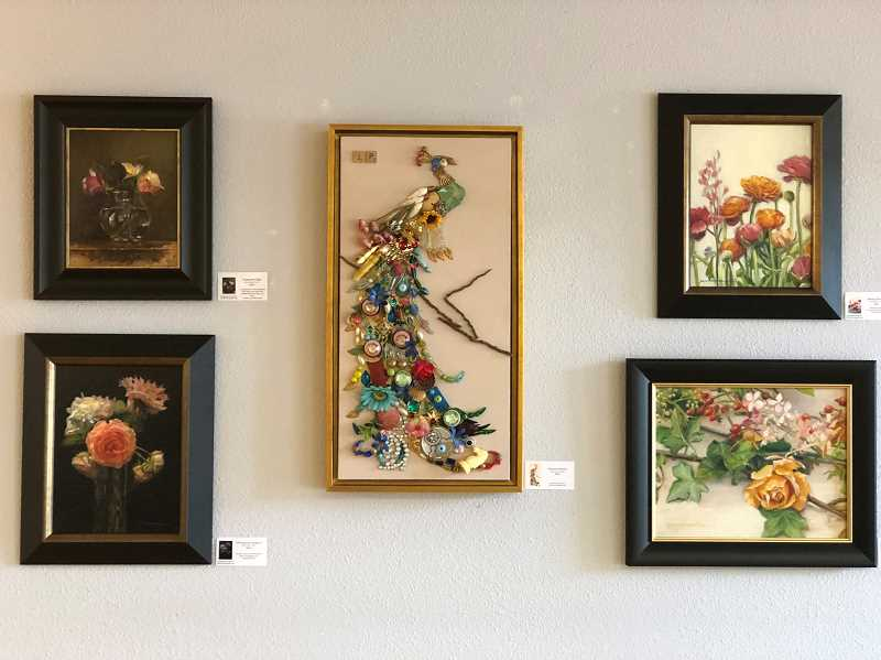 COURTESY PHOTO  - This is an example of the art Julia Armstrong Peltz is exhibiting at IM=X Pilates in Lake Oswego through the month of August.