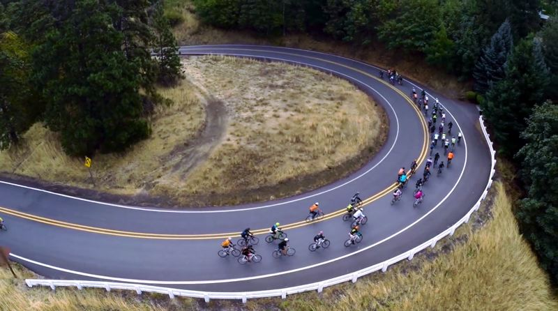 COURTESY: FILMED BY BIKE - The Filmed By Bike festival has become quite an attraction for cycling enthusiasts. It takes place May 17-19, featuring films such as 'Dirty Sellwood' by Manny Marquez.