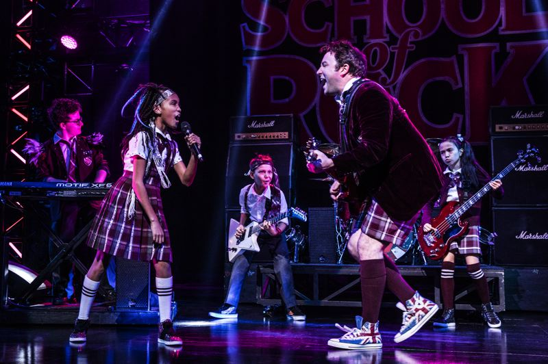 COURTESY: MATT MURPHY - 'School of Rock' stages at Keller Auditorium, May 21-26.