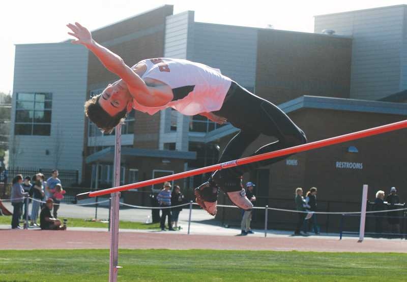 STEELE HAUGEN - Kash Michael placed first in the long jump (19-10.75) and claimed gold in the high jump (6-04).