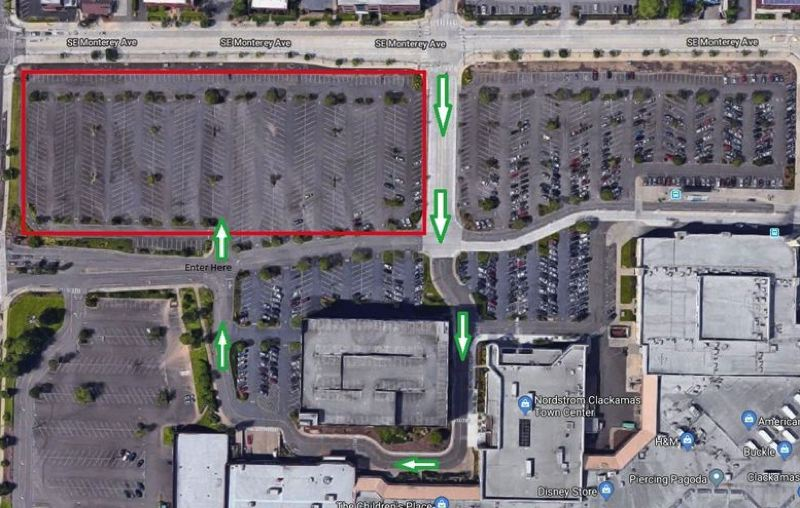 CONTRIBUTED - Here is where to find the Third Annual Cars for the Cause at the Clackamas Town Center.