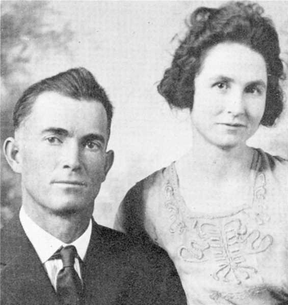 PHOTO COURTESY OF BOWMAN MUSEUM  - Dick and Bessie Bryant were married in 1911 and eventually moved to Crook County.