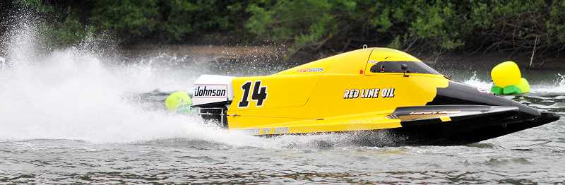 GRAPHIC FILE PHOTO - Hydroplanes, runabouts and other boats will compete at the Memorial Day boat races.