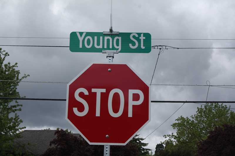 PMG PHOTO: JUSTIN MUCH - Young Street is among the Woodburn streets scheduled for maintenance improvements this year.