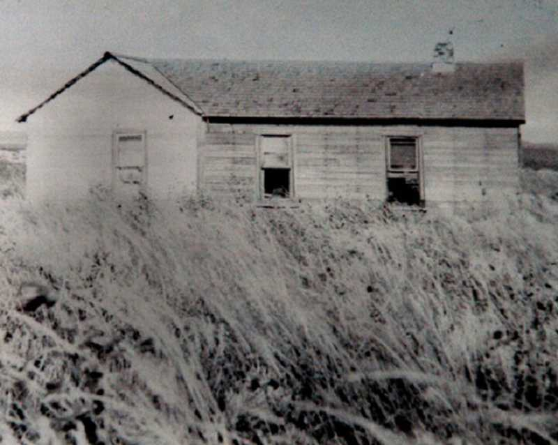 COURTESY OF SPECIALTY POLYMER - Raymond Southwell's boyhood home, located on an eastern Colorado homestead.