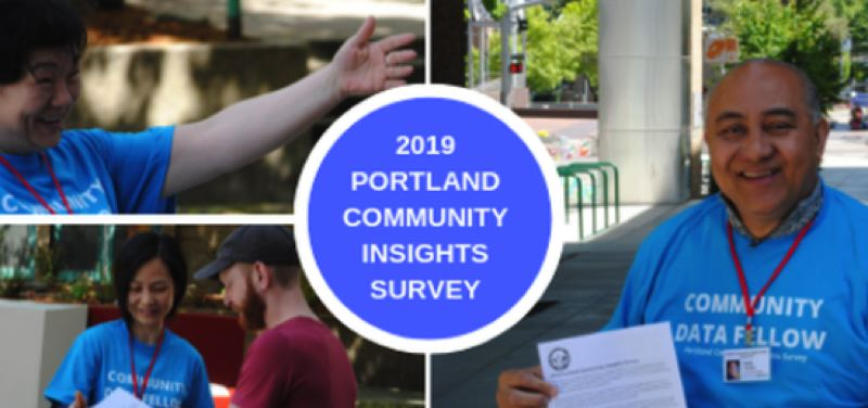 CITY OF PORTLAND - The website for the annual survey.