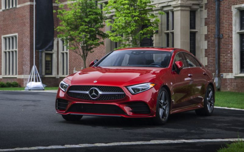 COURTESY MECEDES-BENZ - The 2019 Mercedes CLS450 4MATIC Coupe is one of the most beautiful luxury cars in the world, even though it actually a sedan.