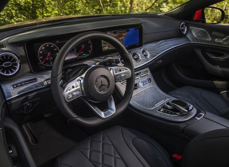 COURTESY MECEDES-BENZ - The interior is everything a Mercedes should be — well-designed, comfortable and loaded with advanced technologies.