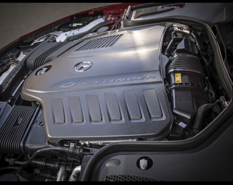 COURTESY MERCEDES-BENZ - The all-new turbocharged 3.0-liter inline six cylinder engine provides plenty of smooth power for any driving conditon.