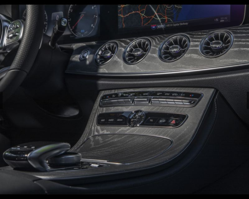 COURTESY MERCEDES-BENZ - The dash and console are works of art.