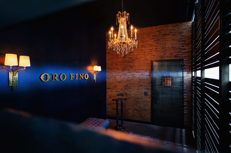 COURTESY: LORENTZ BRUUN CONSTRUCTION - Eating and drining establishments, such as the Moda Centers season ticket holder speakeasy Oro Fino, have boomed with the economy and consumer confidence.