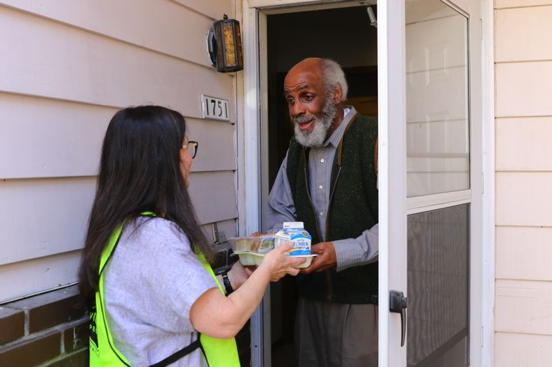 COURTESY: MEALS ON WHEELS PEOPLE - Meals on Wheels People serves about 5,000 seniors each weekday — delivering to their doors and hosting them in neighborhood centers.