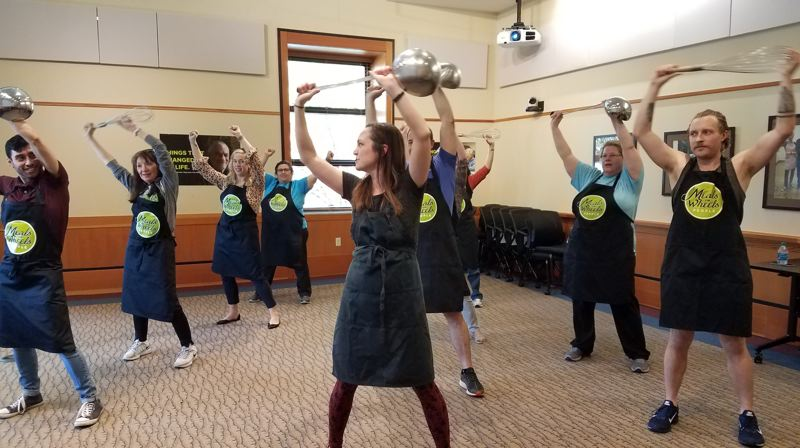 COURTESY PHOTO -  The Meals on Wheels People's Precision Ladle Drill Team will participate in the Starlight Parade.