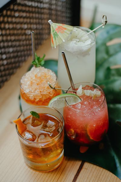 COURTESY PHOTO - Tropical drinks are the thing at Bar Miranda.