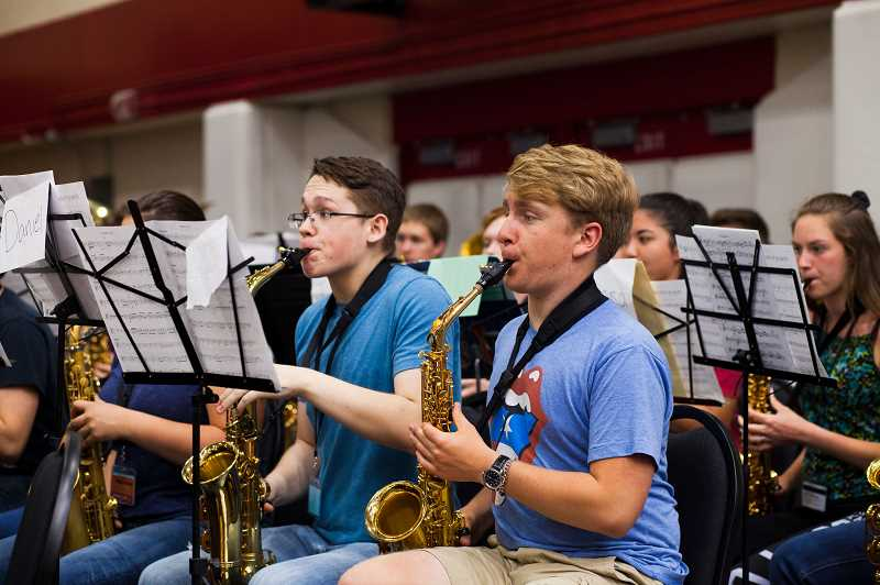 COURTESY PHOTO: PACIFIC UNIVERSITY - More than 1,000 people attend the annual Music in May concert at Pacific University's Stoller Center.