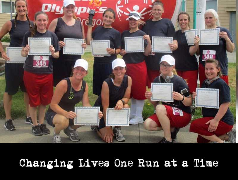 COURTESY PHOTO - These Coffee Creek inmates completed the Reason to Run program.