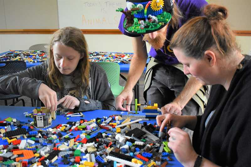 PMG FILE PHOTO - A lego session scheduled as part of the Estacada Public Librarys Summer Reading activities will allow attendees to make creations that move.