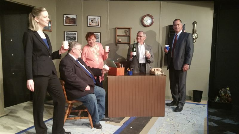 COURTESY PHOTO - 'Other People's Money' will be presented at Sandy Actors Theatre from May 31 through June 23, with shows at 7:30 p.m. Fridays and Saturdays and a 3 p.m. matinee on Sundays.