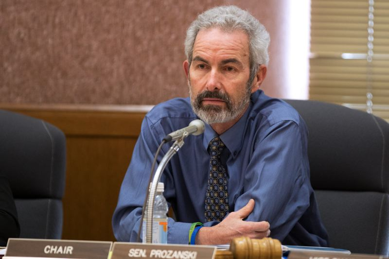 PMG FILE PHOTO - State Sen. Floyd Prozanski of Southern Oregon sponosred a bill to change the way juvenile offenders are tried and sentenced.