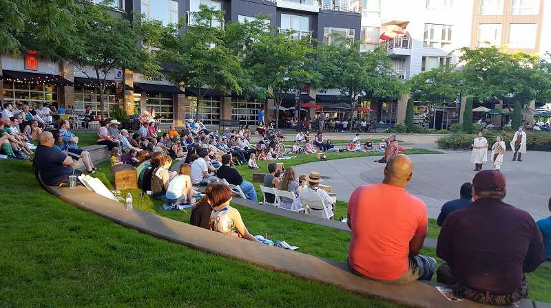 COURTESY PHOTO - Outdoor performances by Experience Theatre Project's 'The Comedy of Errors' begins on June 28.