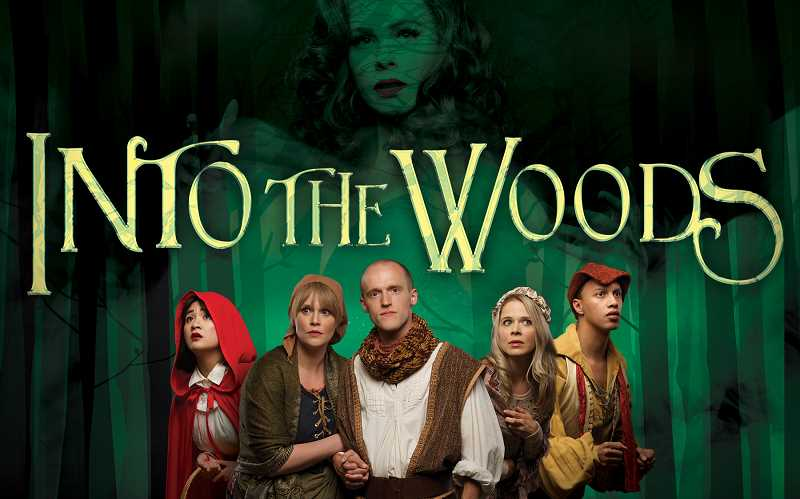 COURTESY PHOTO - The cast of Broadway Roses production of Into the Woods, opening May 31 and continuing through June 30.